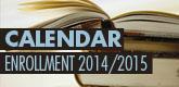 Calendar Enrollment 2014/2015