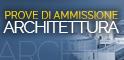Bandi per l'accesso ai Corsi di studio finalizzati alla formazione di Architetto