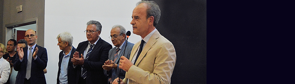 Santo Marcello Zimbone, is the new Rector of the Università degli Studi Mediterranea