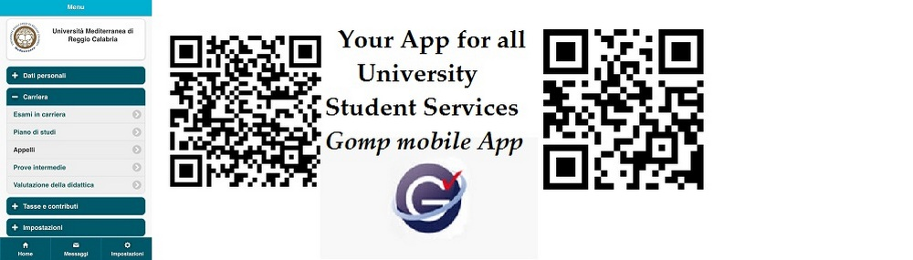 Your App for all University Student Services : Gomp mobile App