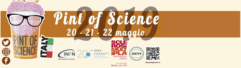 "20-22 May 2019 -  ""Pint of science"" in Reggio Calabria"