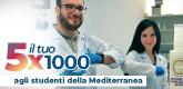Il tuo 5x1000 agli studenti della Mediterranea
