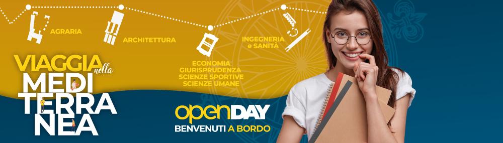"""Open Day - """"Viaggia nella Mediterranea"""" -  13 aprile 2021"""