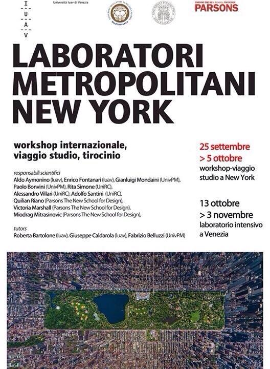 Laboratorio Metropolitano a NEW YORK