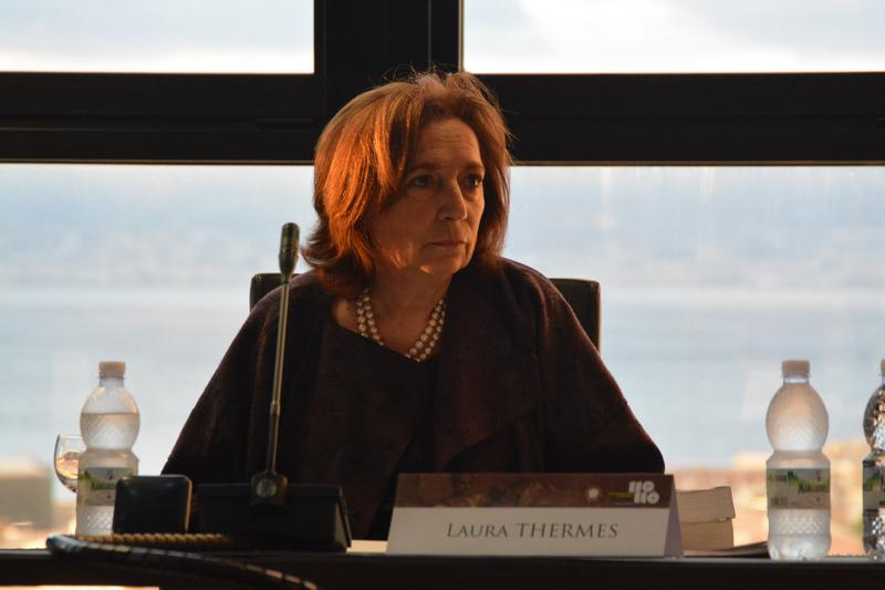 Laura Thermes, ultima lezione