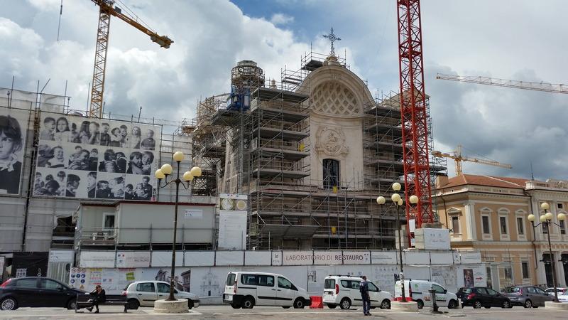Cantiere Chiesa S. Maria del Suffragio