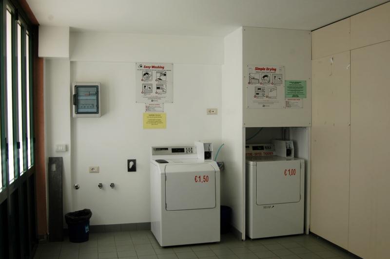 Collegio Universitario: lavanderia