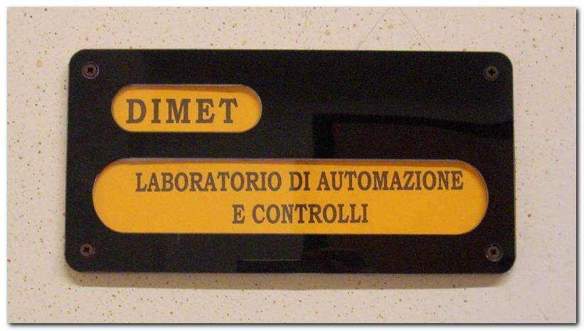 Laboratorio Automazione e controlli